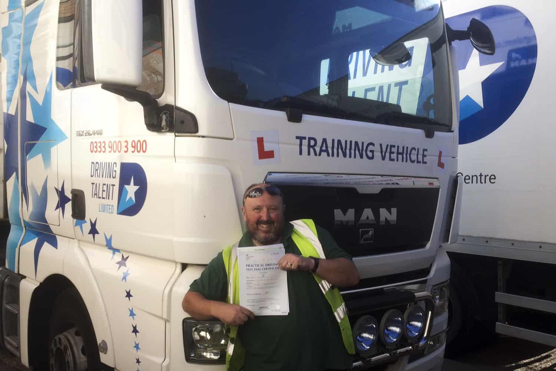 Darren Horn Pass Test