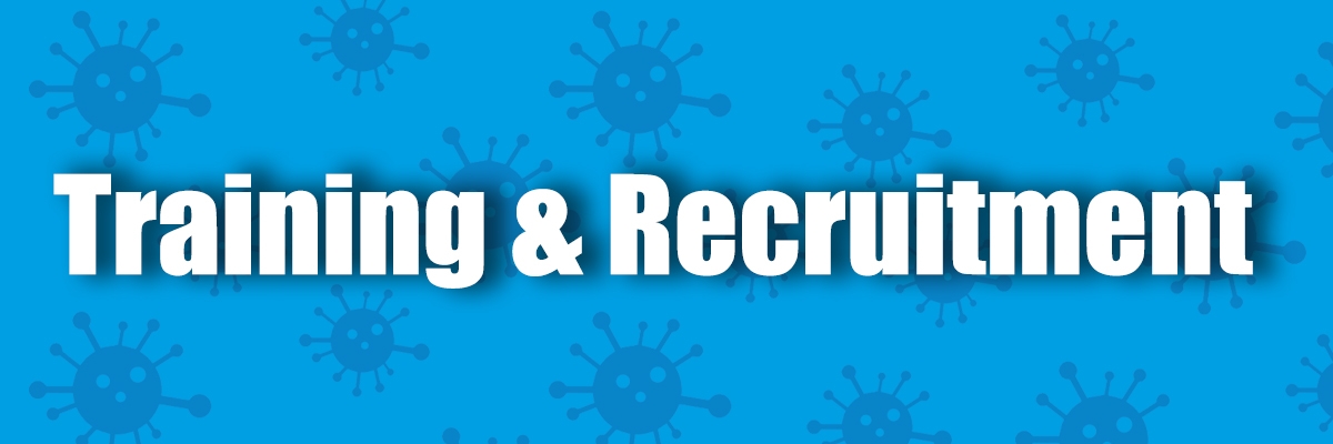 Recruitment and training banner
