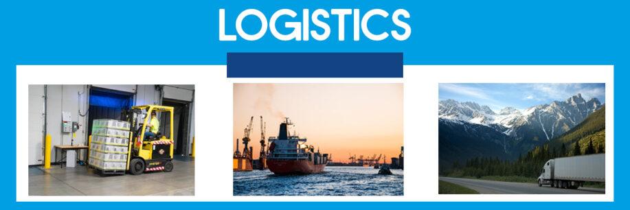 logistics industry banner